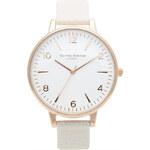 Topshop **Olivia Burton Large White Watch