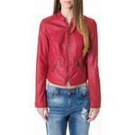 Tally Weijl Berry Leather-Like Biker Jacket