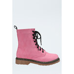 Tally Weijl Pink Lace Up Boots