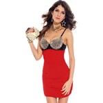 DAMSON Dámské sexy mini šaty 36(S)
