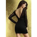 DAMSON Svůdné černé šaty S/M