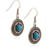 Marks and Spencer Indigo Collection Round Beaded Charm Drop Earrings