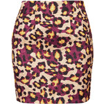 Topshop **Leopard Print Skirt by Sister Jane