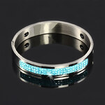 TopMode Elegantní náramek s modrými kamínky