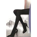 TopMode Dámské punčocháče se vzorem černá