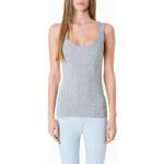 Tally Weijl Grey Basic Vest Top
