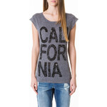 "Tally Weijl Grey ""California"" Paisley Print Top"