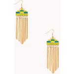 Forever 21 Painted Desert Dangling Earrings