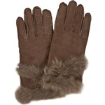 Dámské rukavice EMU AUSTRALIA - Pine Creek Gloves Chocolate XS/S