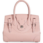 Ralph Lauren Collection Leather Tote in Rose