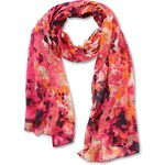 s.Oliver Lightweight scarf in a batik design