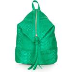 Topshop Snake Zip Front Backpack