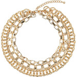 Topshop Mix Chain Multi-Row Necklace