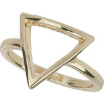 Topshop Simple Cut Out Triangle Ring