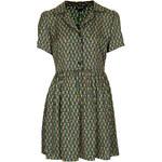 Topshop Pipe Tile Shirt Dress