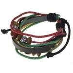 Paveni Pánský náramek na ruku PI0241-red