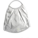 Stříbrná společenská kabelka Paola Tomasini 30 stříbrná