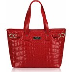 Červená kabelka LS fashion LS00277 červená