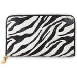Zebrovaná peněženka HT fashion P-C1436D černo/bílá