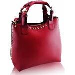 Kabelka LS Fashion LS00105A-II. jakost červená