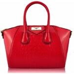Kabelka LS Fashion LS0026 červená