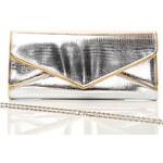 London Style Stříbrné psaníčko-kabelka A0550 stříbrná