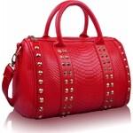 Kabelka LS Fashion LS00108 červená