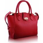Kabelka LS Fashion LS00171 červená