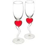 Beate Uhse Sklenky na šampaňské Srdce