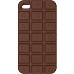 Beate Uhse Ochranný obal na iPhone 4, 4s čokoládový