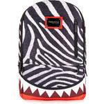 Topman Mens Sprayground Zebra Shark Backpack*