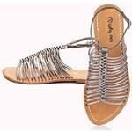 Letní kožené páskové sandály značky WHY NOT