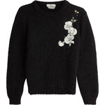Fendi Mohair-Silk Orchid Pullover