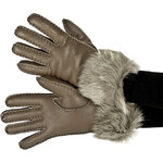 Dámské rukavice EMU AUSTRALIA - Taroona Gloves Nappa Finish MUSHROOM M/L