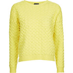 Topshop 3D Stitch Jumper