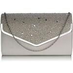 Dámské psaníčko LS Fashion ( LSE00264) - šedá