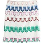 Missoni Multicolor Viscose Mini-Skirt