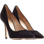 Salvatore Ferragamo High-Heel Suede Pumps