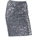 Stříbrná sukně (vel. M, vel. L)