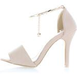 Béžové sandále Adanna 36