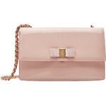 Salvatore Ferragamo Ginny Medium Patent Leather Shoulder Bag