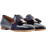Salvatore Ferragamo Scotty Patent Leather Loafers