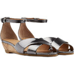 Marc by Marc Jacobs Leather Wedge Sandal