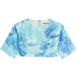 Fausto Puglisi Tie-Dye Print Silk Top