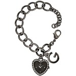 G by Guess Hodinky Hematite-Tone Charm