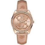 Guess Hodinky Rose Gold Tone Iconic Sport Logo