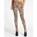 Guess Leginy Leopard-Embossed Leggings