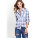 Guess Košile Long-Sleeve Plaid, velikost L