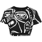 Topshop **Gorilla Crop Top by Illustrated People
