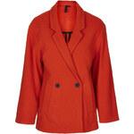 Topshop Wool Blend Bobble Coat by Boutique